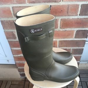 Waterproof boot from Aigle